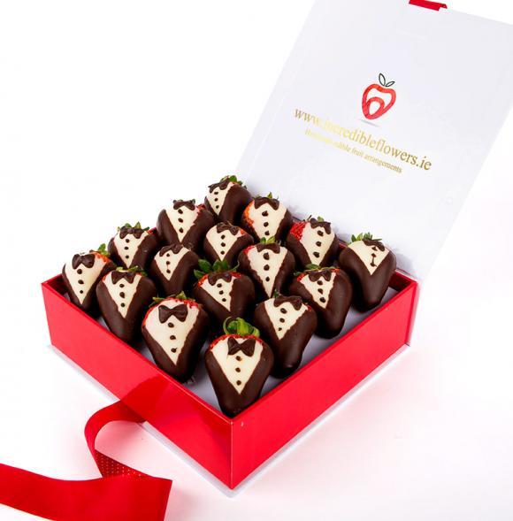 Tuxedo Chocolate Berry Box