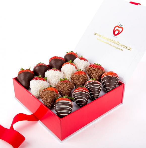Chocolate Berry Box Premium