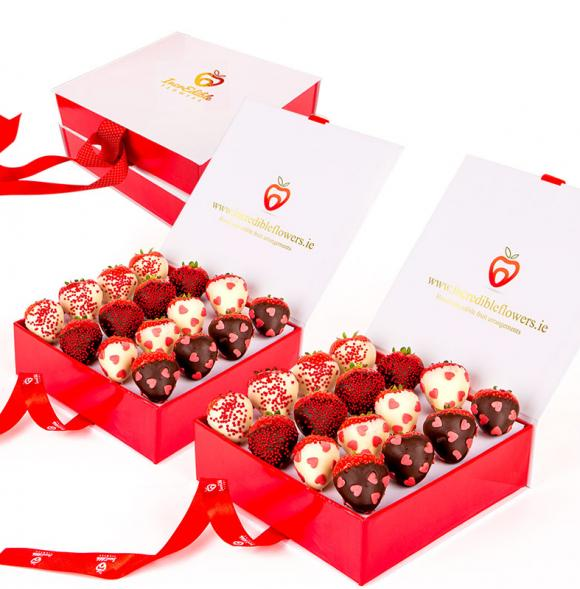 Chocolate Berry Box Love
