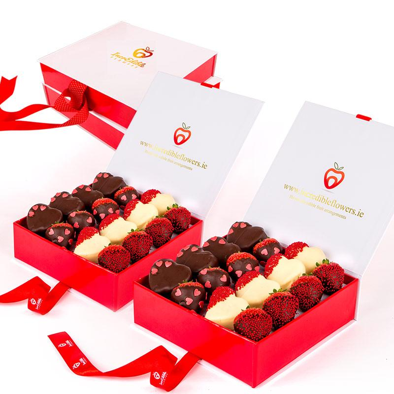 Berry Box with hearts