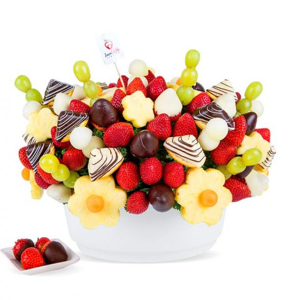 Chocolate Fruit Fiesta