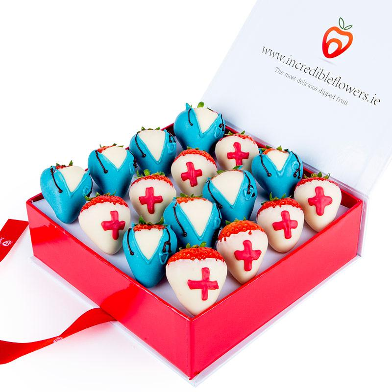 Chocolate Berry Box Doctors & Nurses