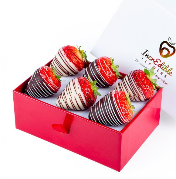 Mini Chocolate Berry Box Swirl