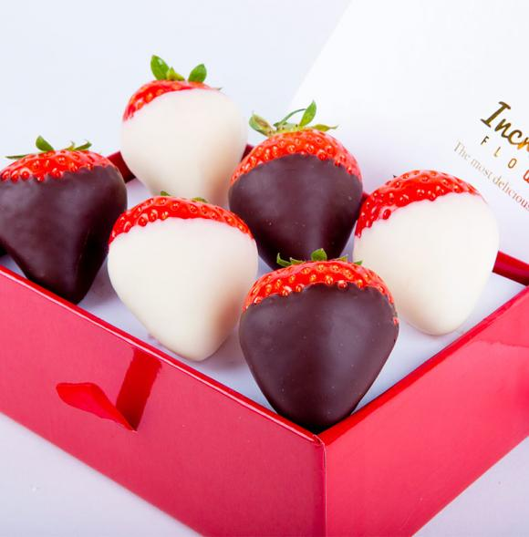 Mini Chocolate Berry Box Duo