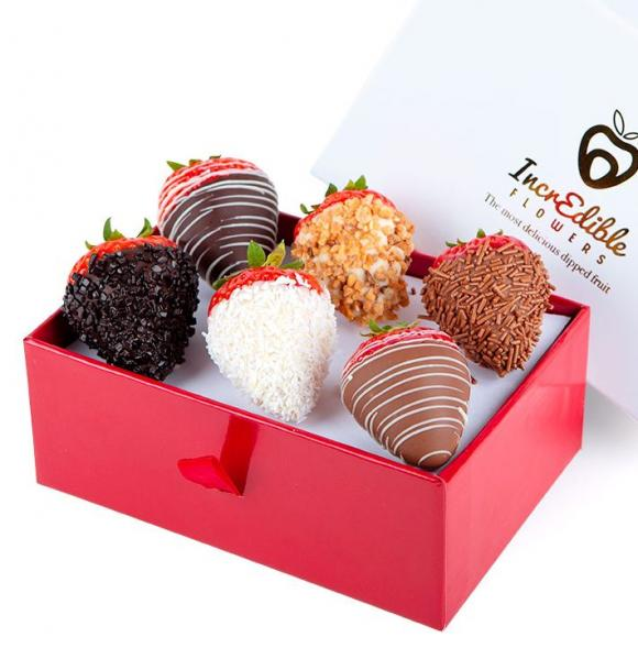 Mini Chocolate Berry Box Deluxe