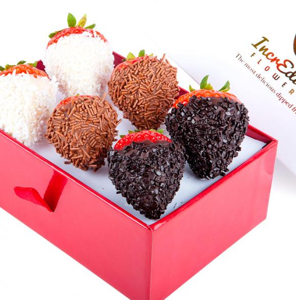 Mini Chocolate Berry Box Premium