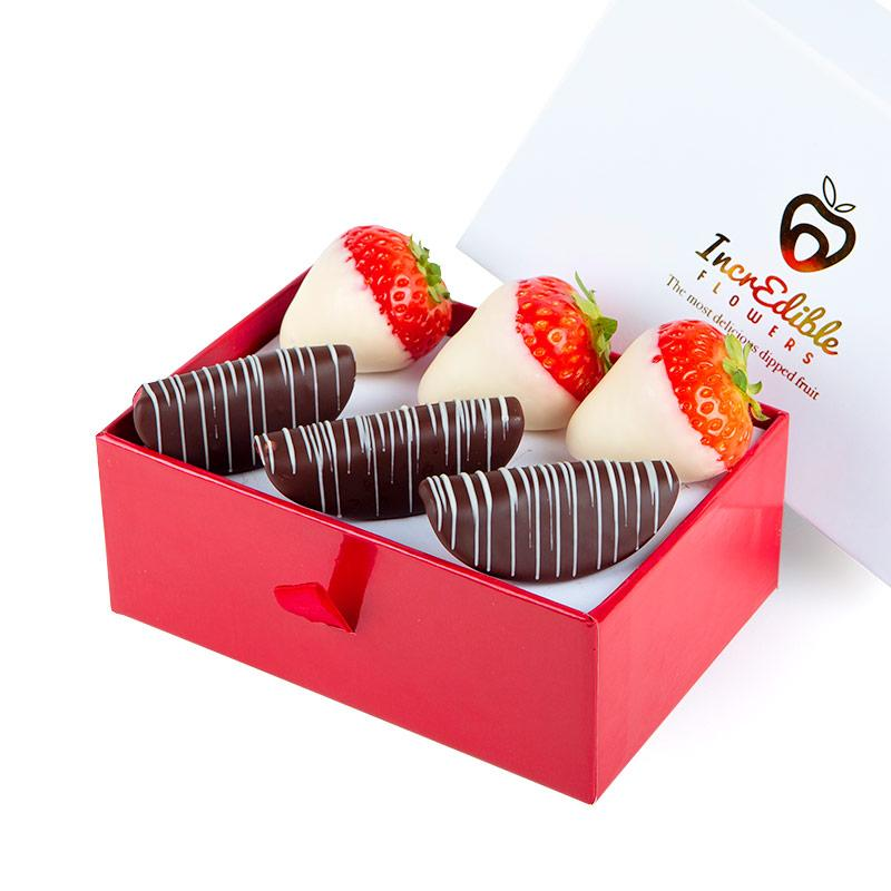 Mini Chocolate Berry Box with apples