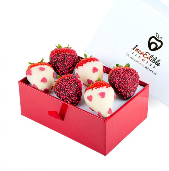 Mini Chocolate Berry Box Love