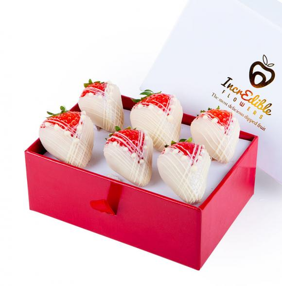 Mini Chocolate Berry Box Brides