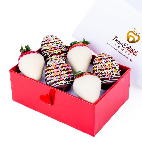 Mini Chocolate Berry Box with pineapple Easter eggs
