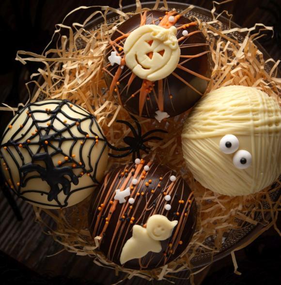 Halloween Chocolate Bomb