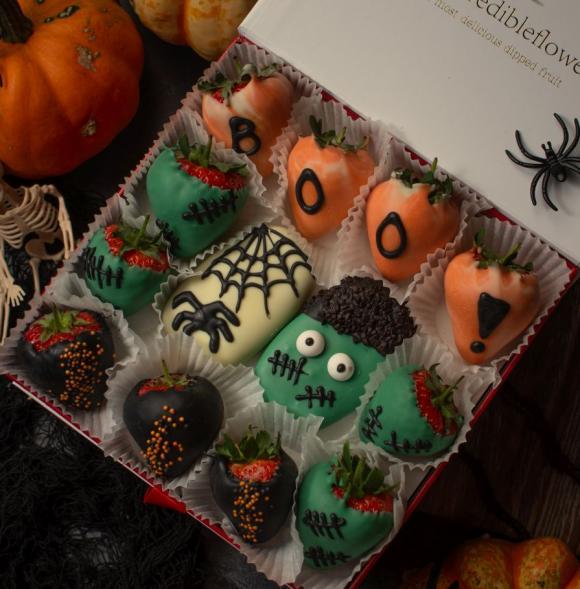 Halloween Berry Box