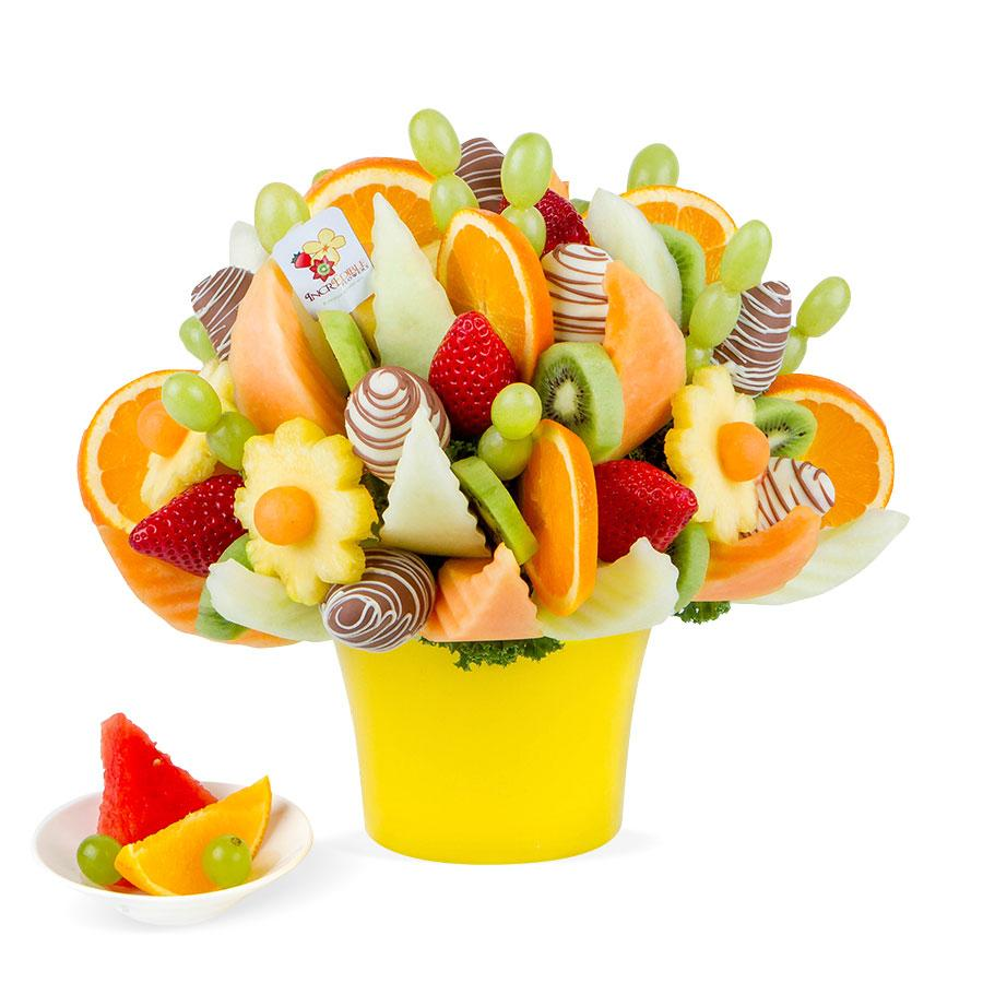 Fruit festival dipped incredible flowers Fruit bouquet