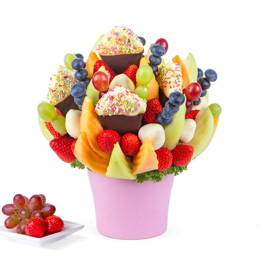 Fruit Cupcake Incredible Flowers